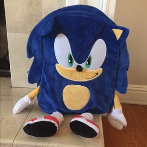 Other - Sonic The Hedgehog Backpack New w tags